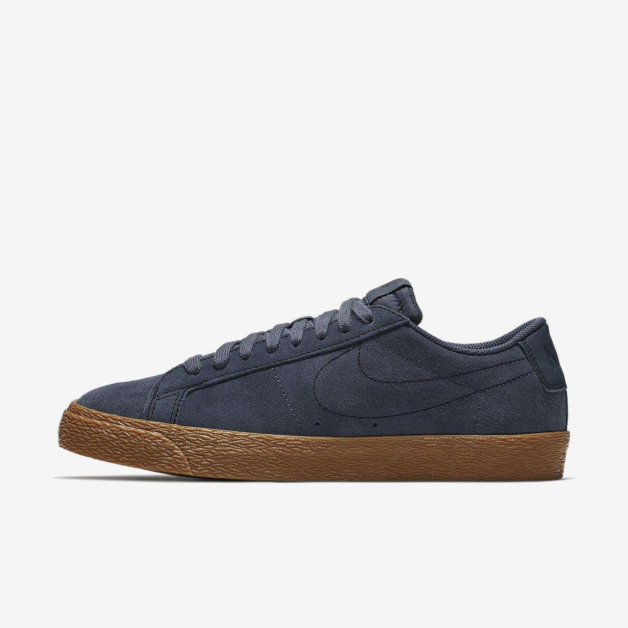 huge selection of 48ca5 1b378 SB Blazer Zoom Low Skateschoen heren | Schoenen - Sneakers, Blue ...