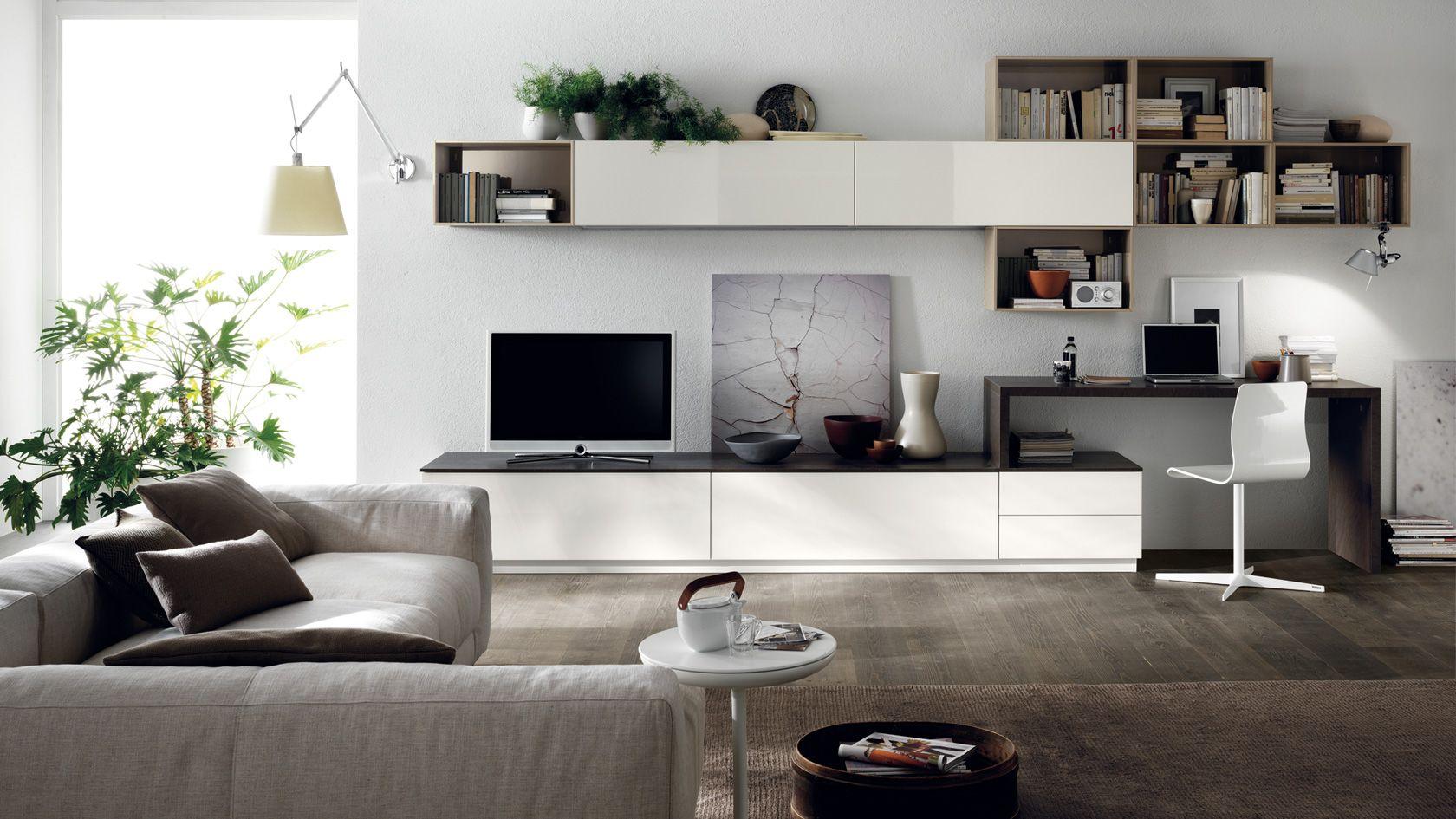 Pensili soggiorno ~ Arredamento soggiorno feel e scenery sito ufficiale scavolini