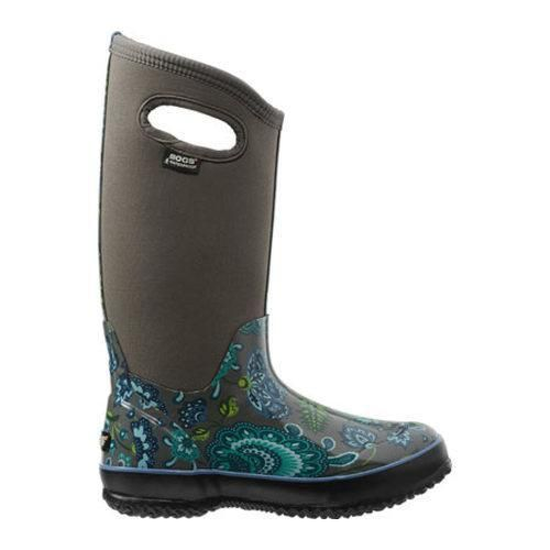 Women's Bogs Classic Winter Blooms Pull On Waterproof Boot Multi