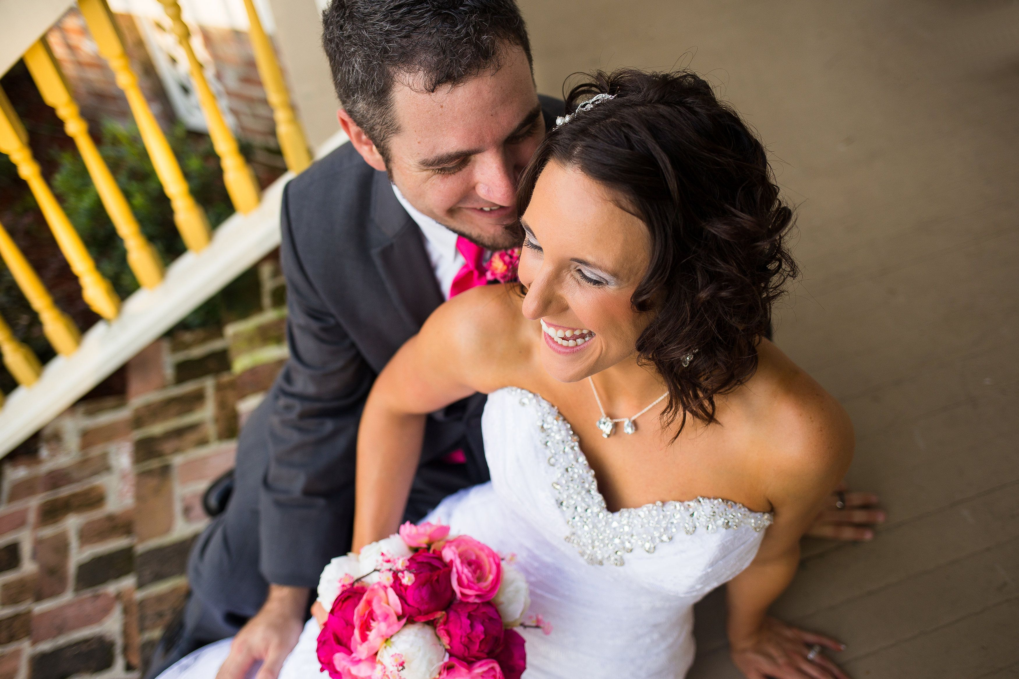 Feature wedding melissa and seanus life is salty but love is sweet