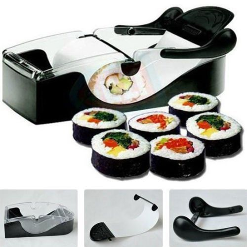 Sushi Maker Rice Mold With Images Sushi Maker Cooking Gadgets Diy Sushi