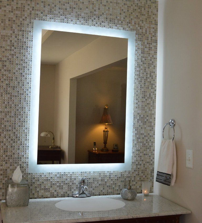 50 Charming Fabulous Bathroom Mirror Designs 2020 Backlit