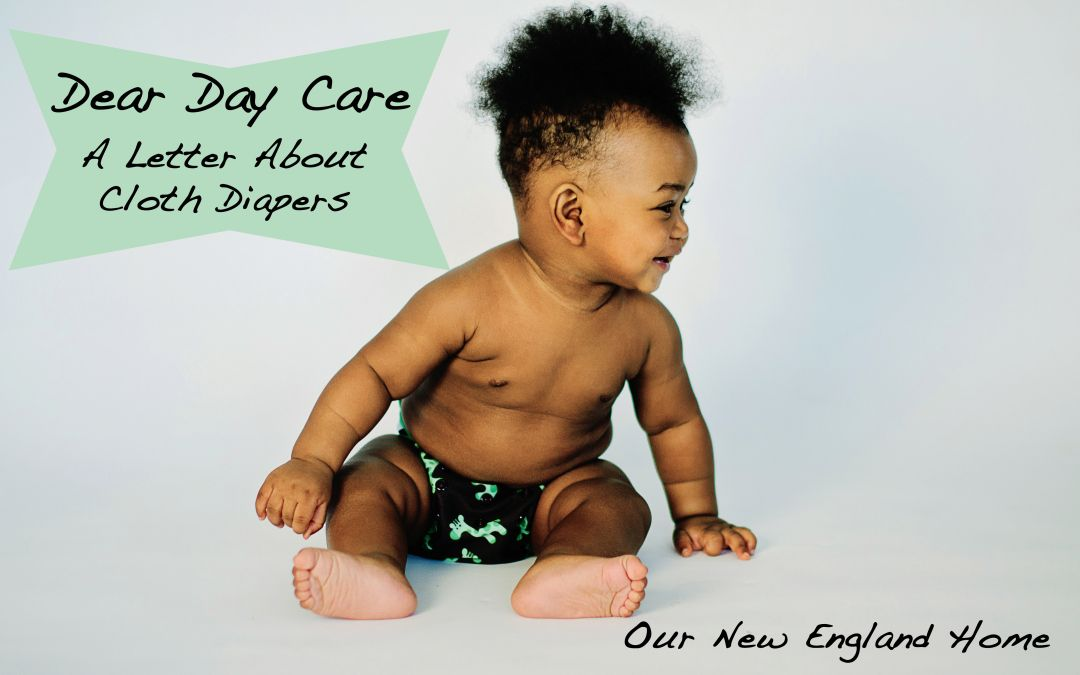 Cloth Diaper Letter for Day Care