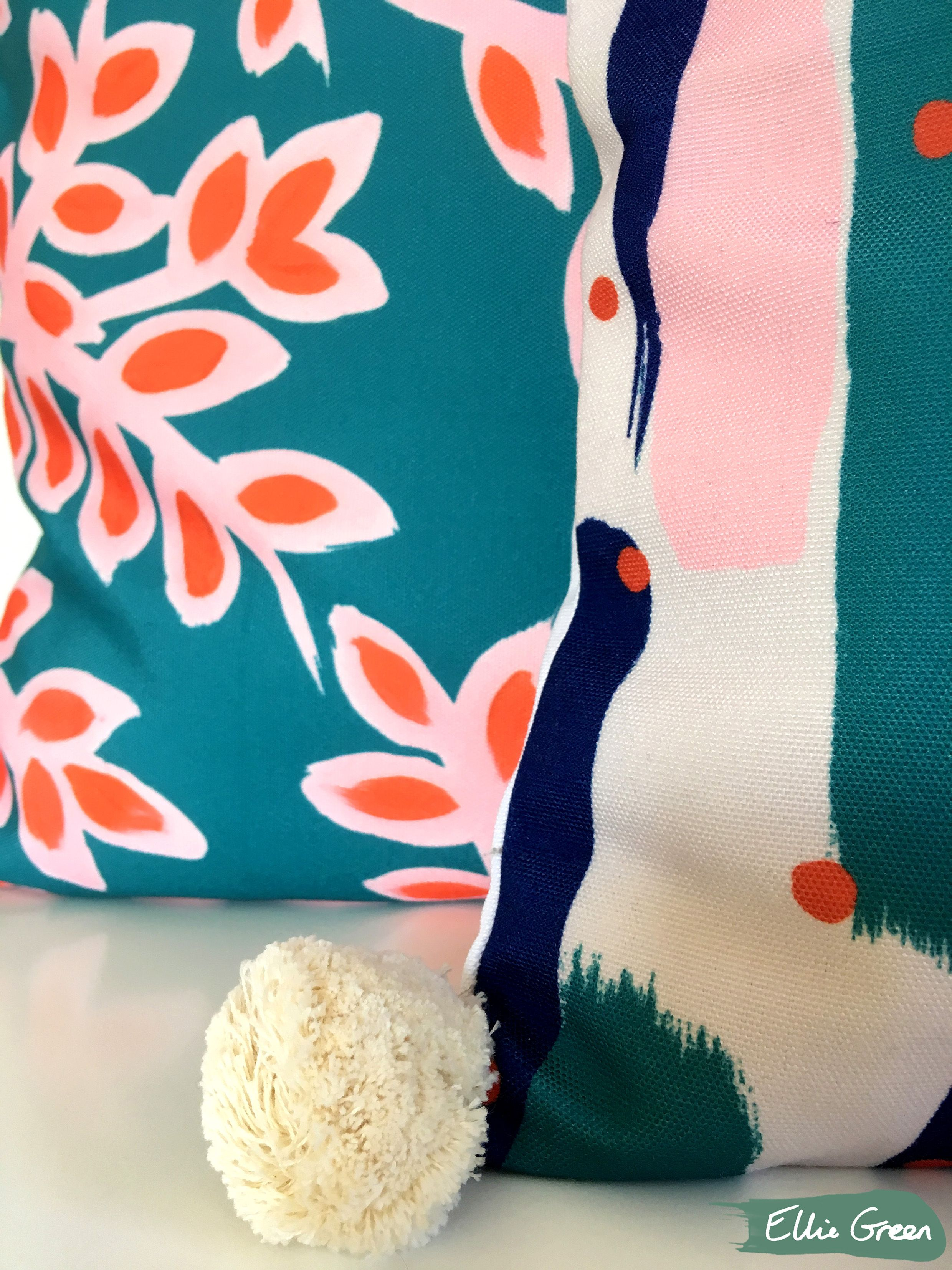 Cushions available to purchase from elliegreendesign