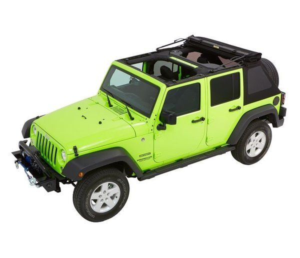 Bestop Trektop Nx Glide Convertible Soft Top 4 Door Jeep Wrangler 5492335 5492317 Jeep Wrangler Soft Top Soft Tops Jeep Wrangler Unlimited