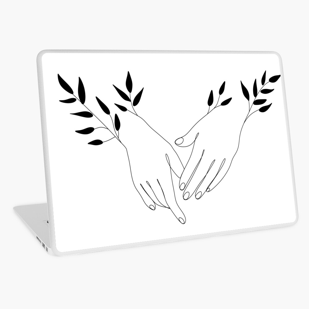 One Line Hands Drawing Hands Icon Hands Logo Illustration Minimalist Print Romantic Illustration Hands Palms Hand Logo Minimalist Prints Logo Illustration