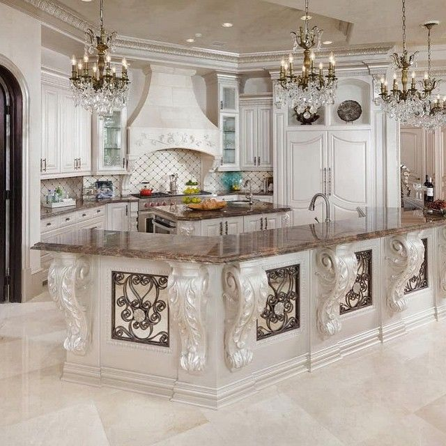 This Is Gorgeous But I Could Not Have An All White Kitchen Lol