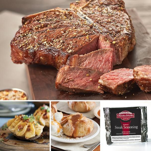 father's day gift ideas: omaha steaks gift sets dad will love