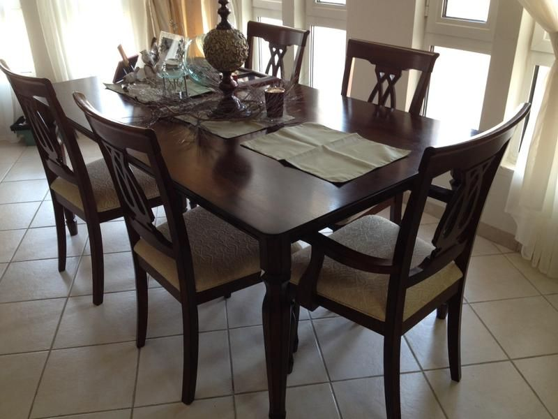 Dubizzle Dubai | Dining Sets: Dinning Table with 6 chairs 800AED