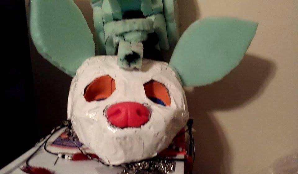Added  k9 nose to Rockshi