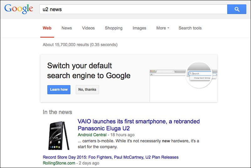 How To Get Google Search Results In My Application