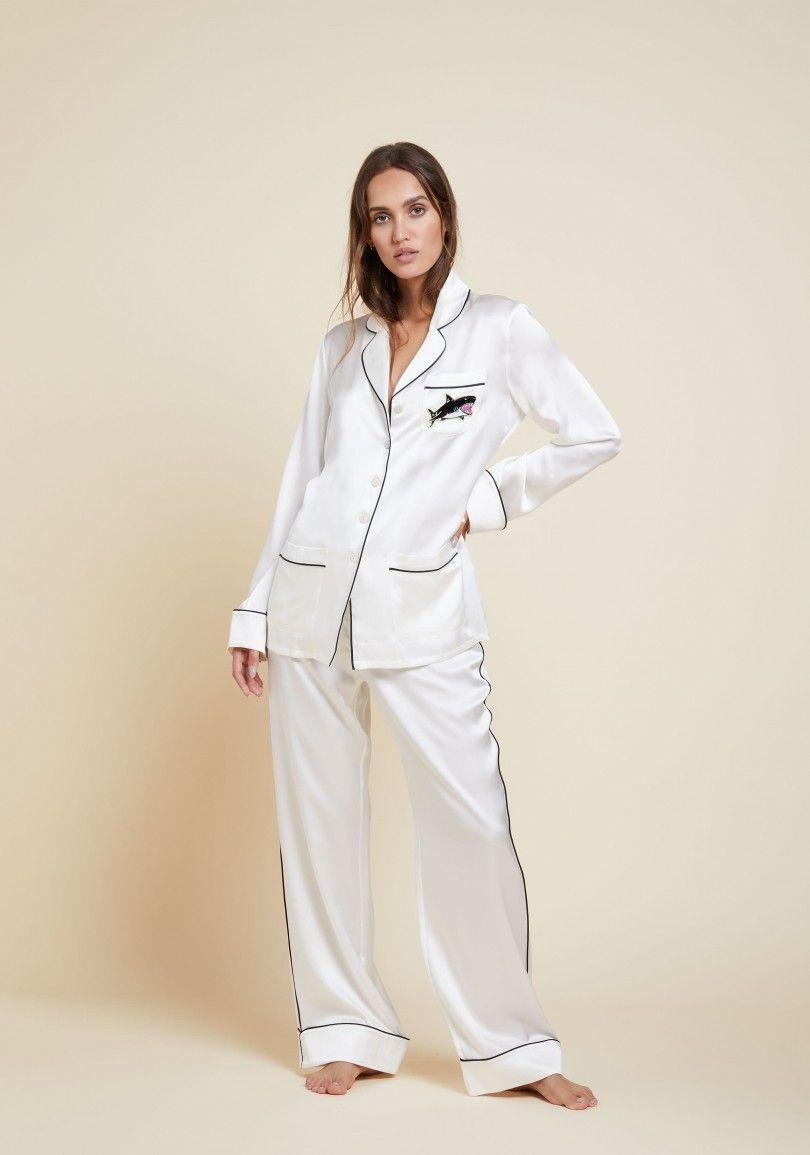 f0d05c113c The Luxury Coco Cody Silk Pyjama