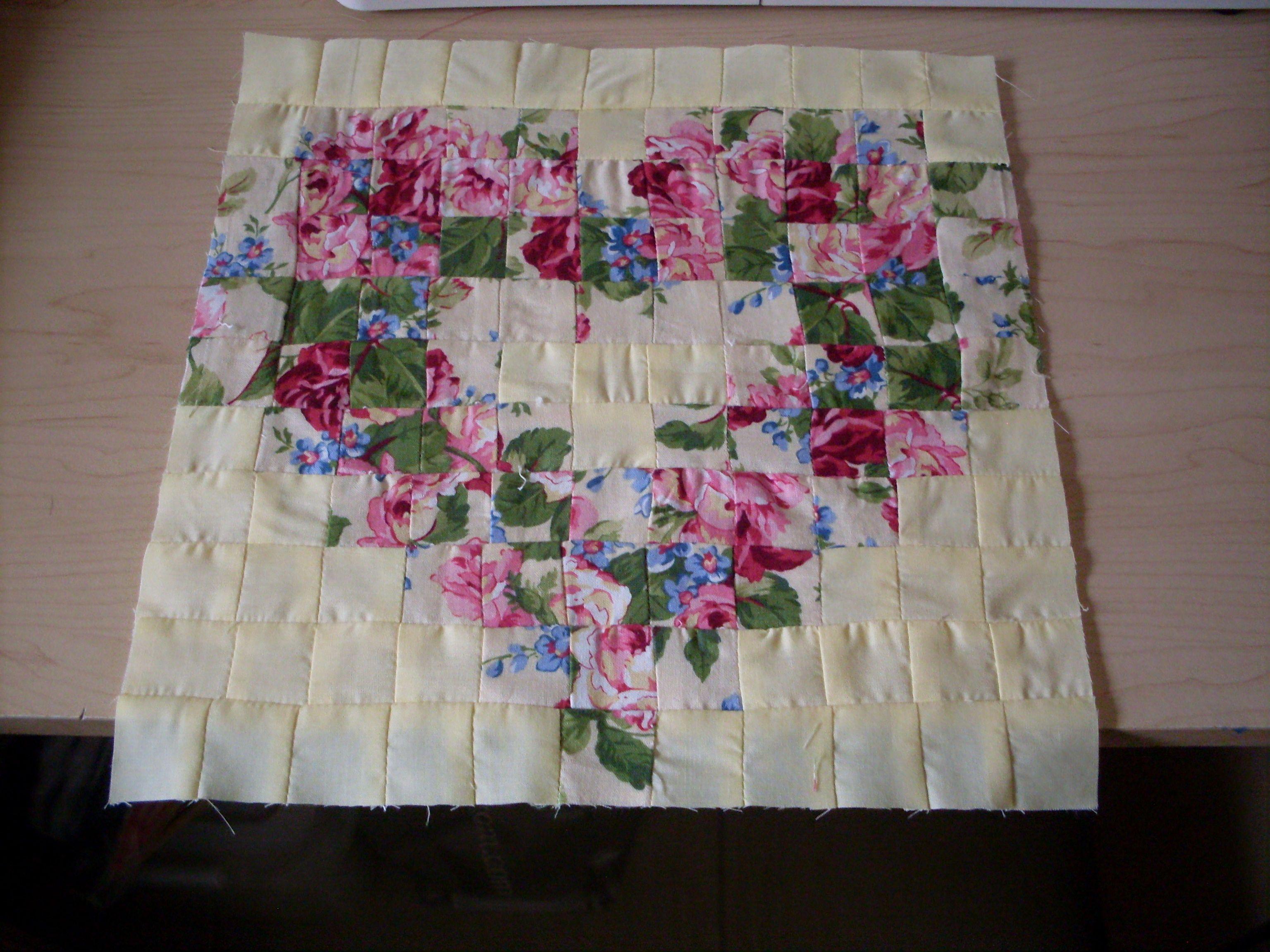 Watercolour Heart Quilt Block Heart Quilt Wall Quilts