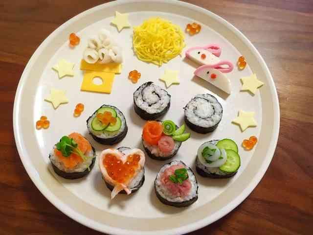 お月見やお弁当に♡カマボコうさぎさん♡の画像