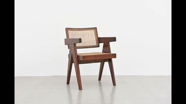 galeriepatrickseguinPierre Jeanneret Office Chair, 1955-56, Chandigarh, India  #pierrejeanneret #jeanneret #lecorbusier #corbusier #chandigarh #india #chair #furniture #design #french #midcentury #modern #galeriepatrickseguin  More on www.patrickseguin.com