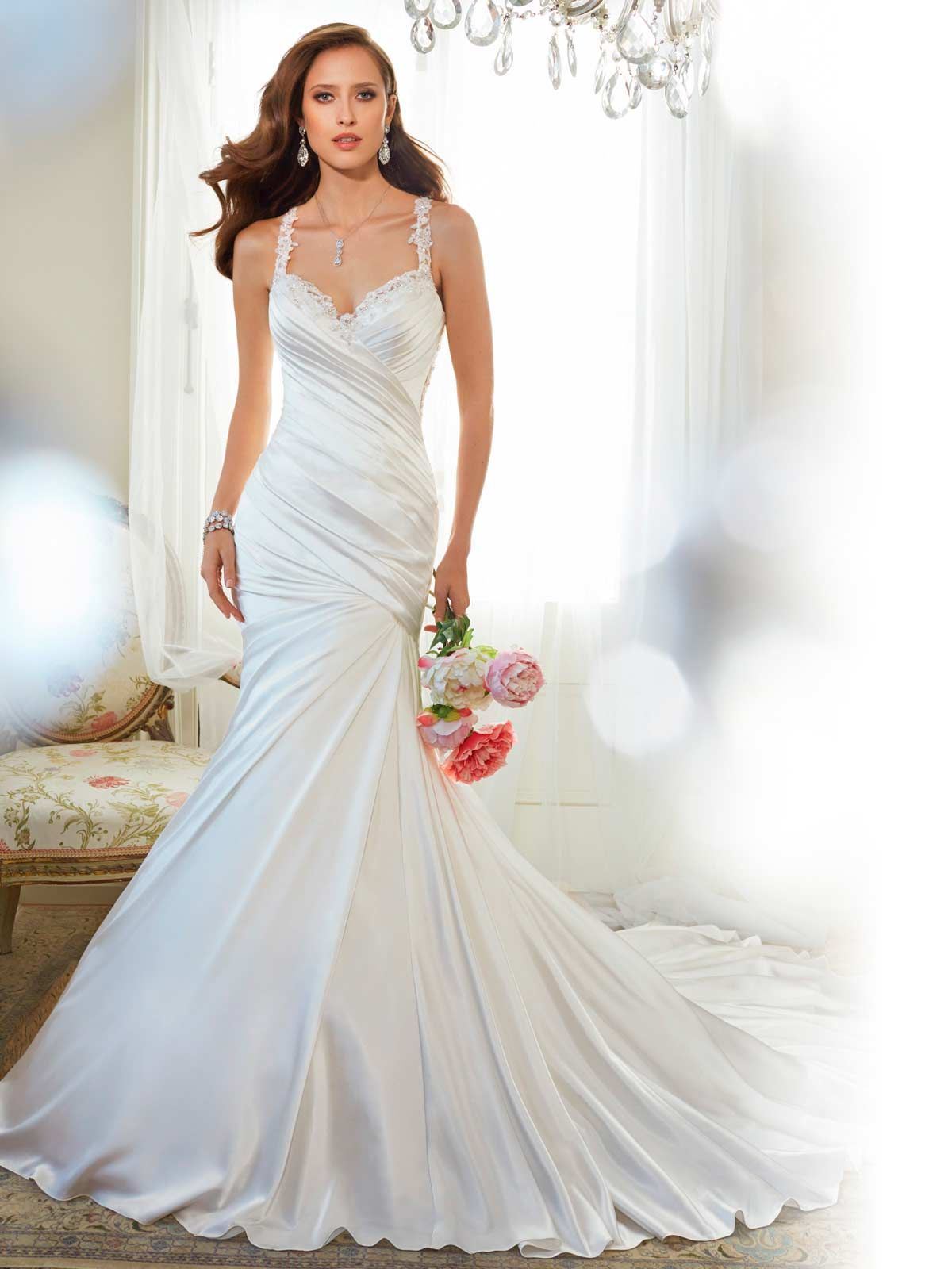 Sophia tolli y11566 sophia tolli corella wedding dresses glamorous sophia tolli wedding dresses 2015 modwedding the back of this dress is so nice ombrellifo Image collections