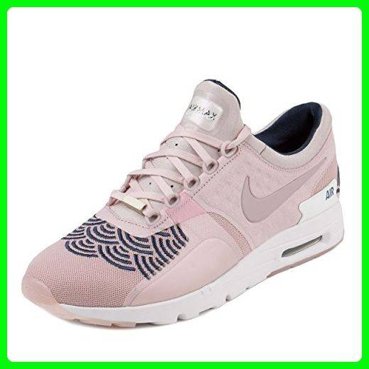 innovative design 71b6d 0a34a Nike Womens W Air Max Zero LOTC QS Champagne Pink Midnight Navy Fabric Size  9.5