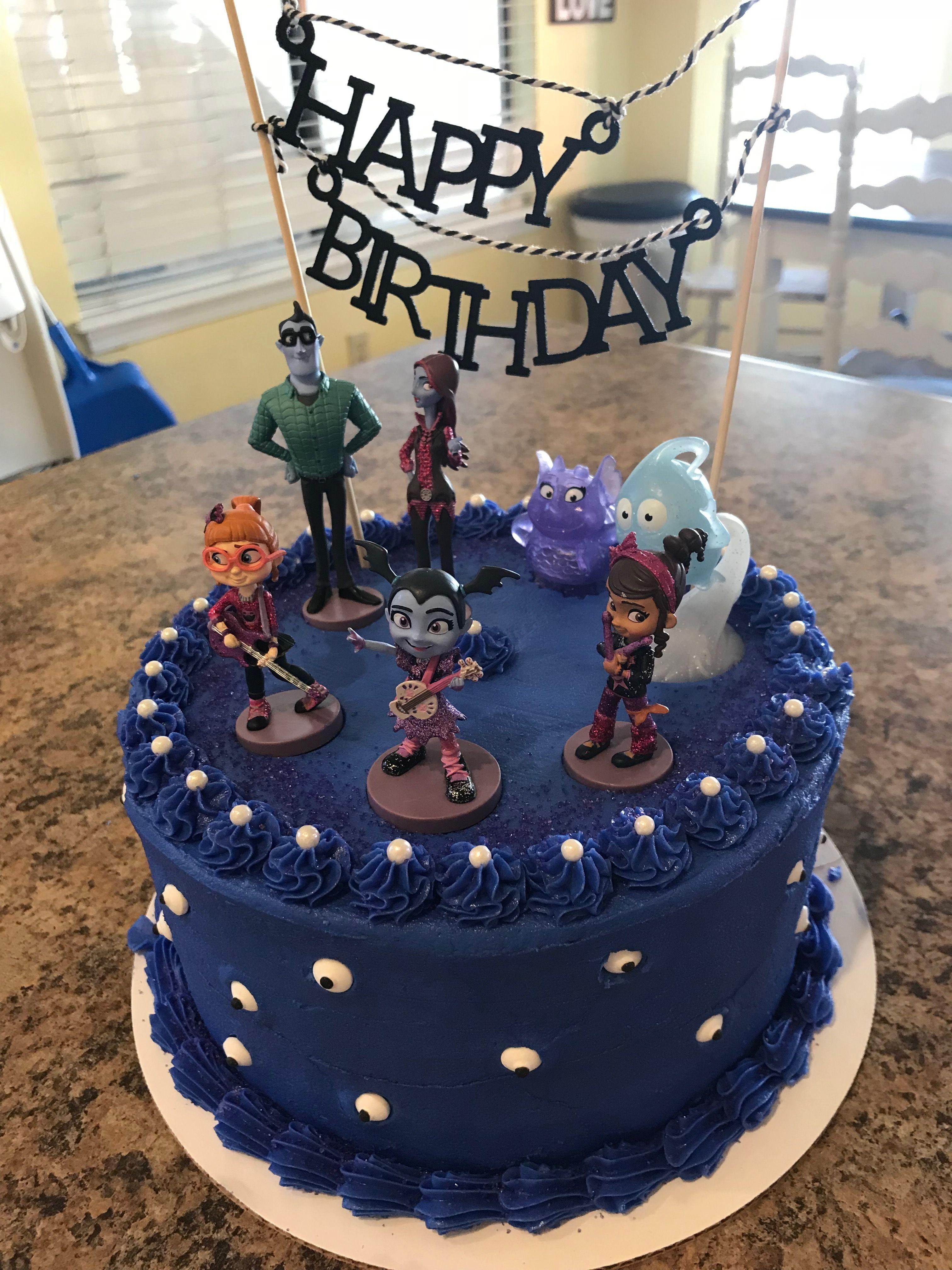 Vamperina Birthday Cake