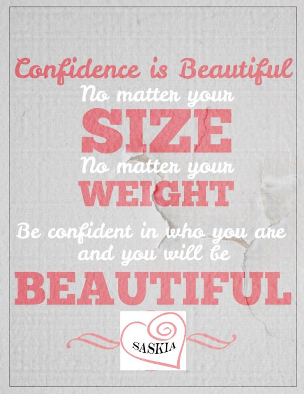 Confidence is Equals to Being Beautiful