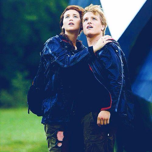 Katniss and peeta❤️