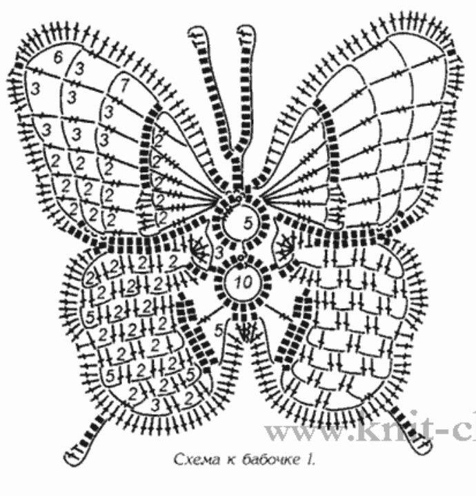 3/3 Butterfly Patterns   adornos para pies   Pinterest   Mariposas ...