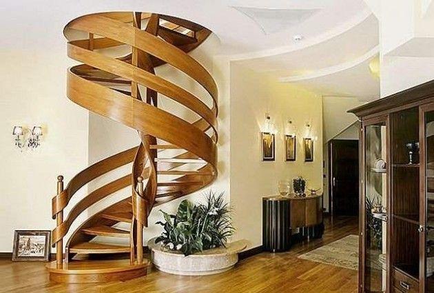 Best 16 Elegant Modern Spiral Stairs Design Ideas That Will Fit 400 x 300