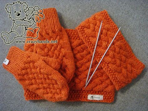 Mitten Pattern To Knit Cute Mittens Third Free Knitting Pattern For