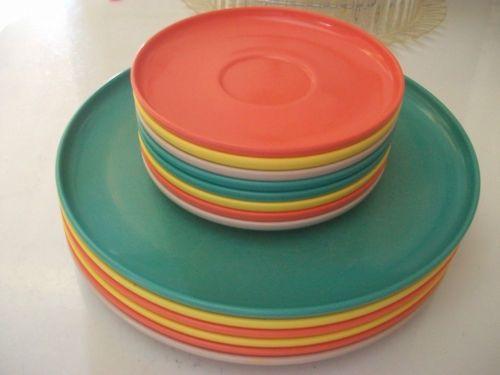 Vintage Kitchen Melmac Dinnerware AZTEC 1950s-60s & Melmac Dishes From the 1950s and 60s | melmac dinnerware | VINTAGE ...