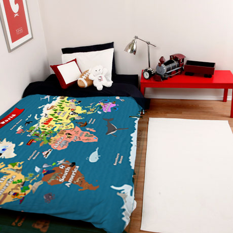 World map for kids bedding lets explore duvet cover maps and world map for kids bedding lets explore duvet cover gumiabroncs Choice Image