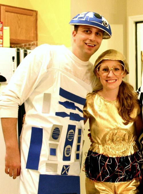 Miss Lovie: C3PO and R2D2 Costume Tutorial