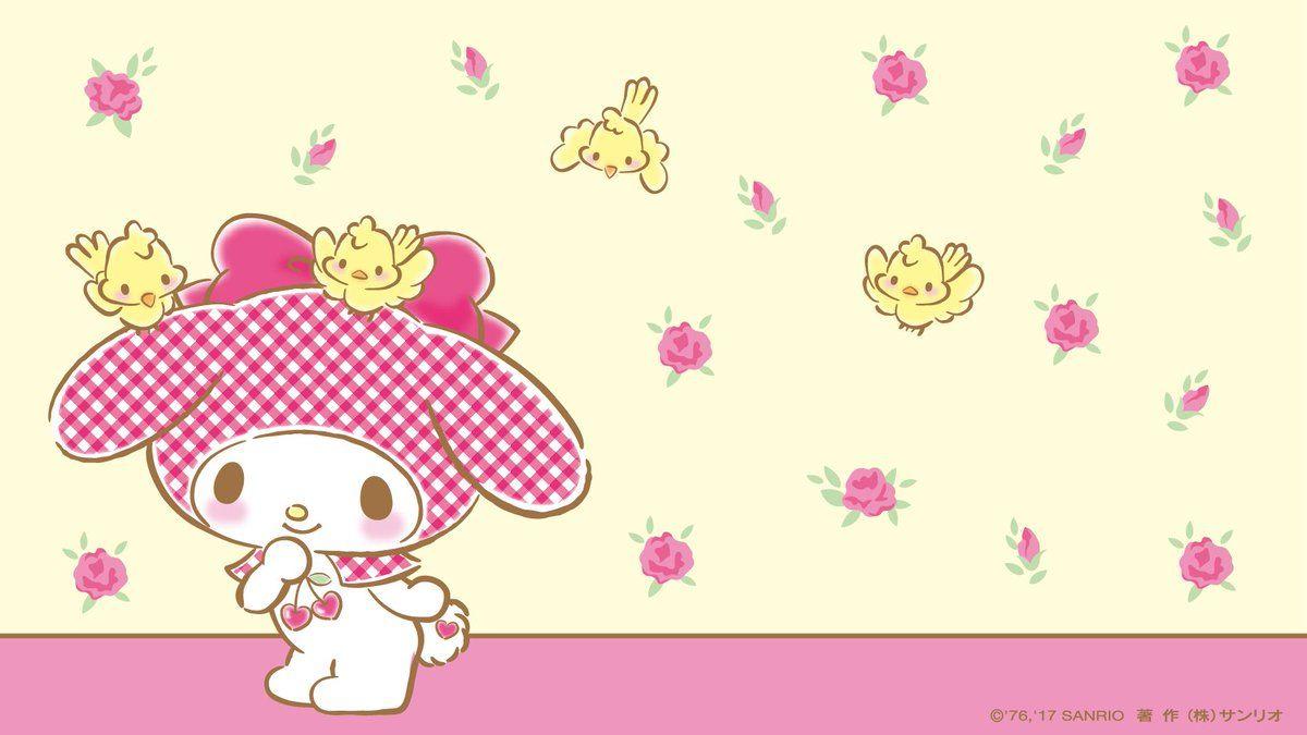 マイメロディ【公式】 (@Melody_Mariland)   Twitter   Hello kitty ...