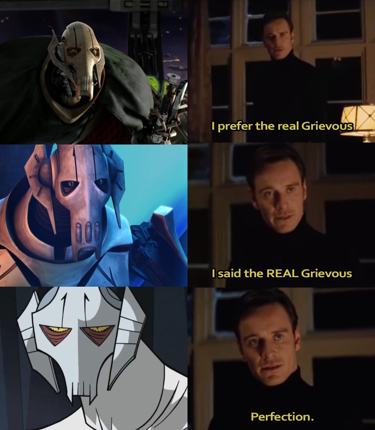 General Grievous Meme Star Wars Humor Star Wars Star Wars Memes