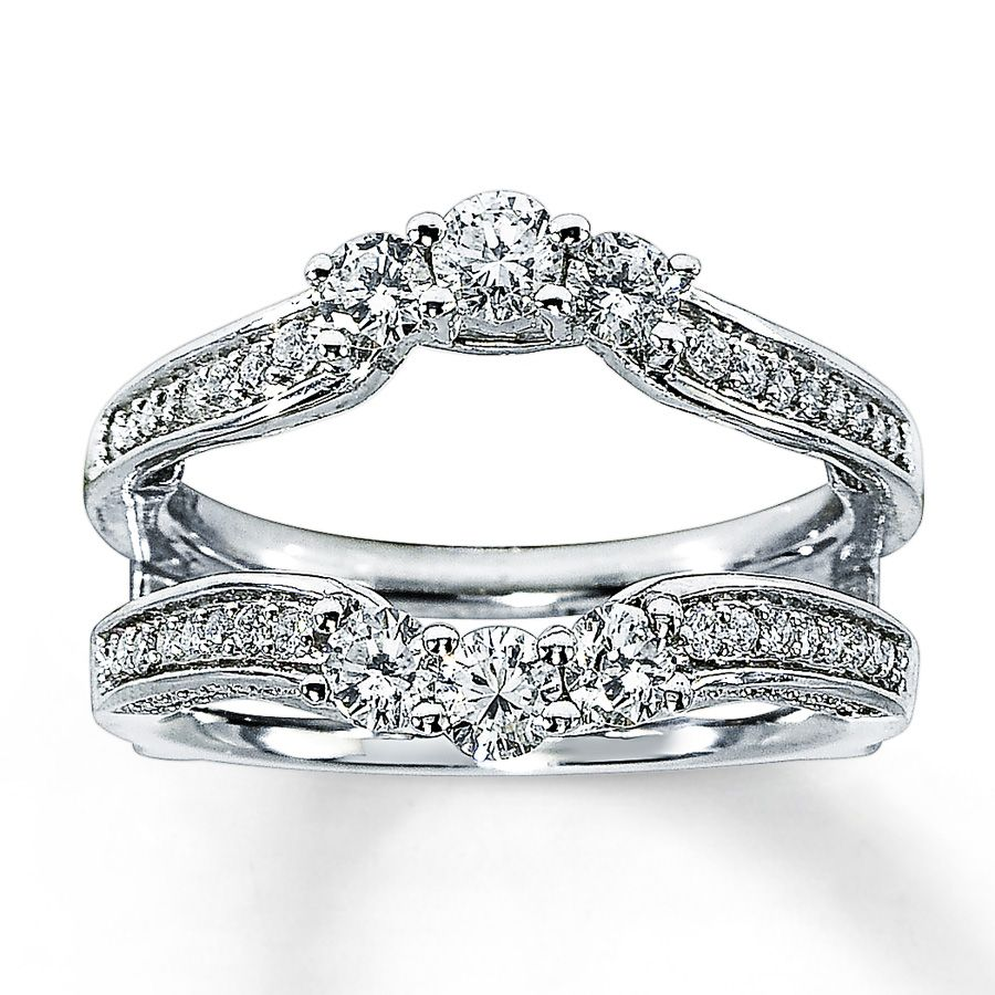 stunning find this pin and more on weddlings diamond enhancer ring - Wedding Ring Enhancers