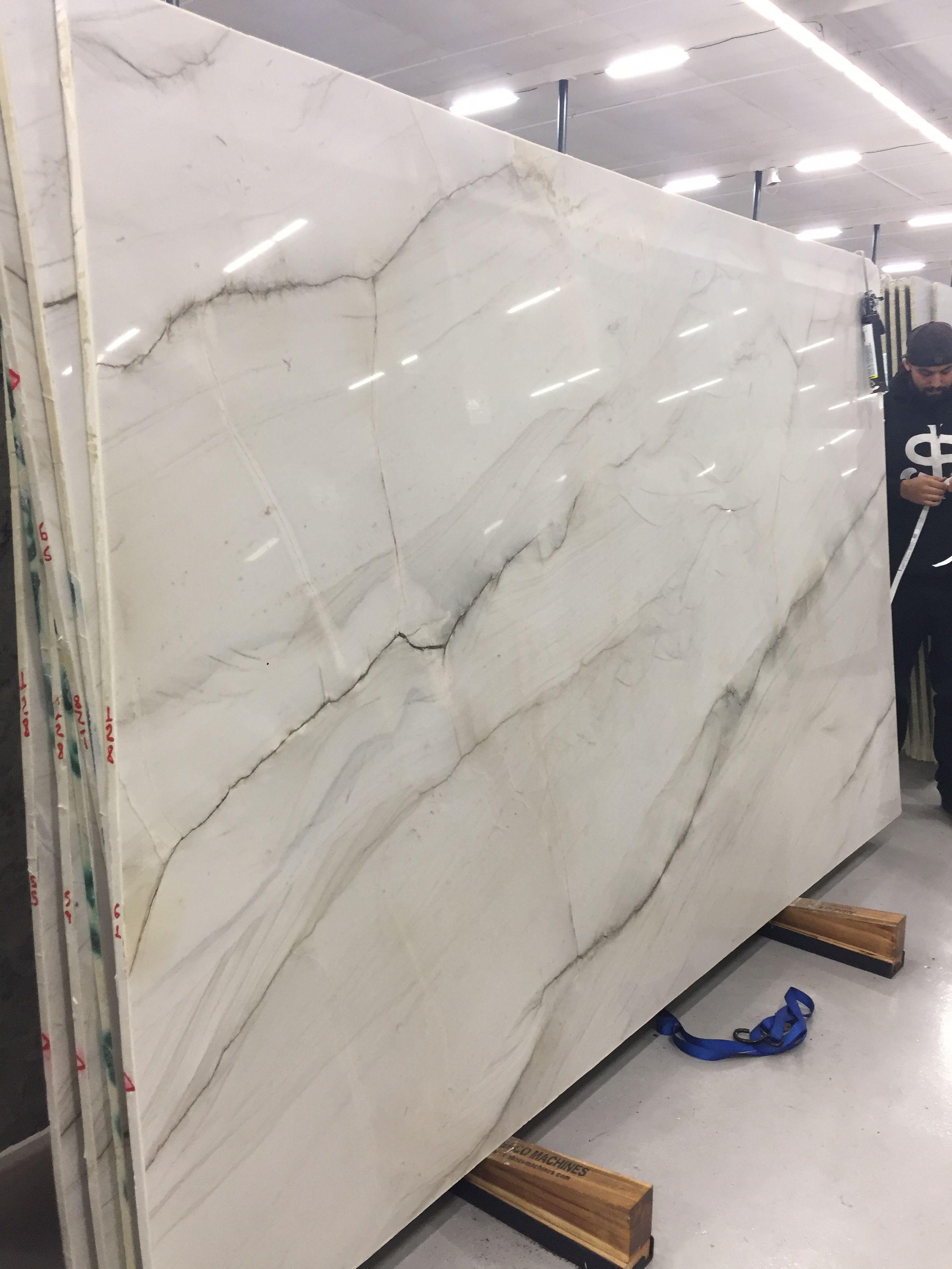 Mont Blanc Quartzite For Kitchen Counter Tops Project