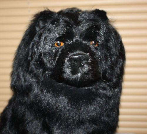 Large-Chow-Chow-Dog-Goat-Hair-Furry-Animal-Photo-Prop-Replica