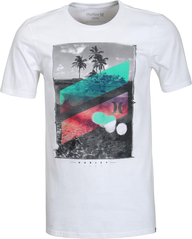 Black hurley t shirt - Hurley Skull Slash T Shirt White Free Shipping