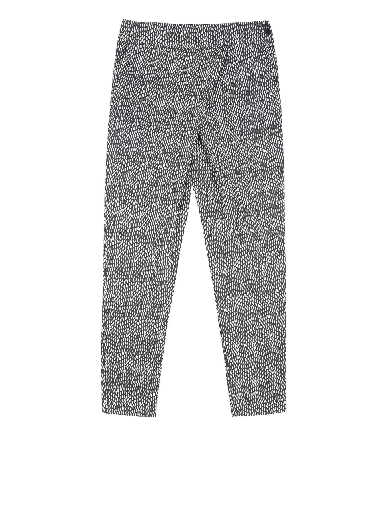 Slinky sarong trousers in jersey