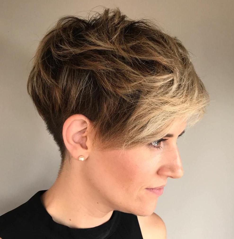 short shaggy spiky edgy pixie cuts and hairstyles pixies