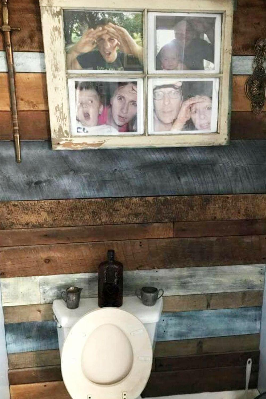 Country Outhouse Bathroom Decorating Ideas • Outhouse Bathroom Decor!