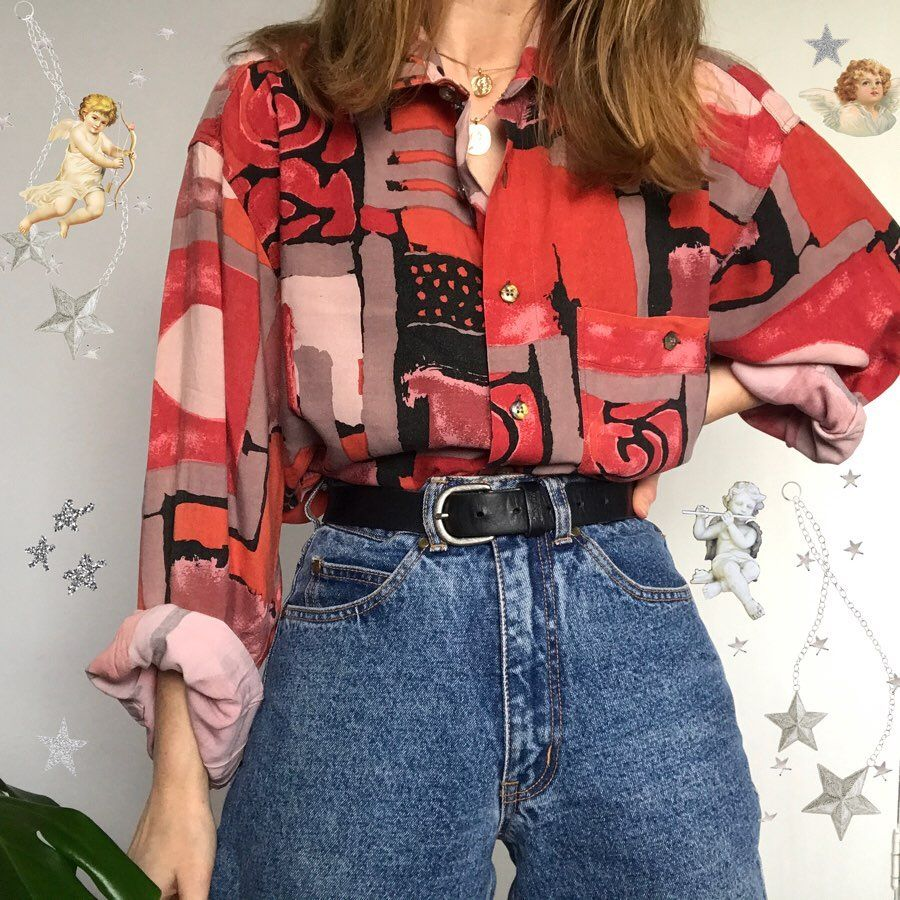 A Collection Of Vintage Shirts Which One Would You Wear 1 2 3 5 Or 5 Vintageclothing Vint Fashion Inspo Outfits Vintage Outfits Cute Casual Outfits