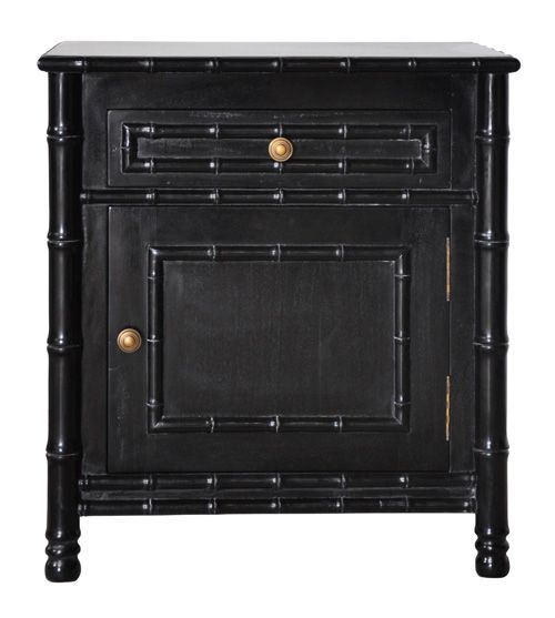 Best Black Bedside Table Shabby Chic Bathroom Faux Bamboo 400 x 300