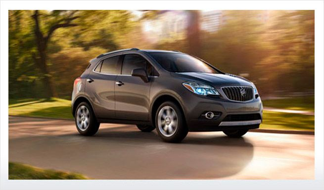 2014 Encore Luxury Small Crossover Buick Encore Buick Vacation