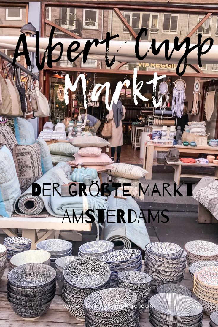 Albert Cuypmarkt Der Grosste Markt Amsterdams Amsterdam Urlaub