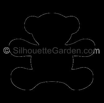 Teddy Bear Silhouette Bear Silhouette Silhouette Clip Art Silhouette
