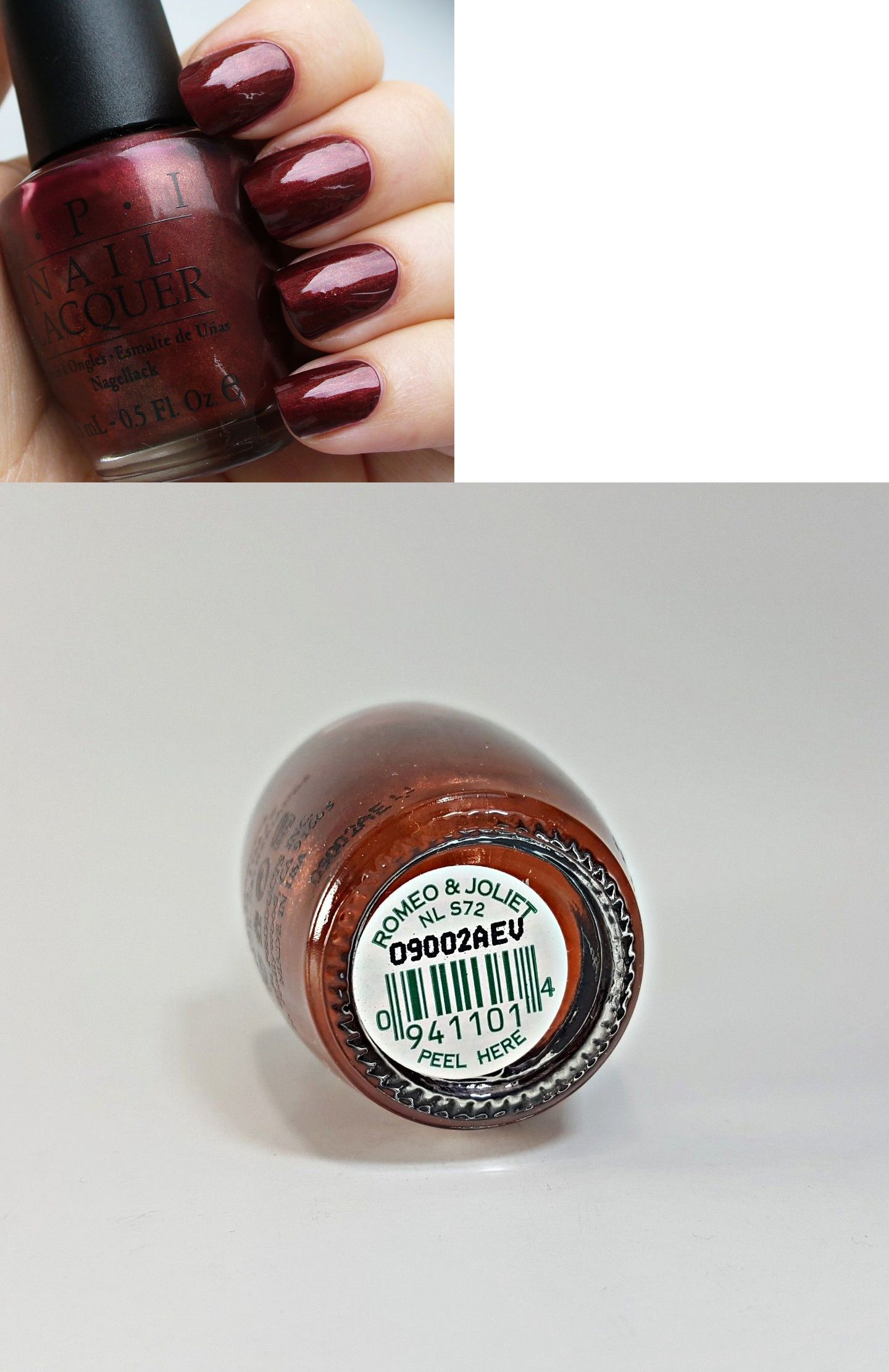 Nails Opi Nail Lacquer Romeo And Jolies Nl S ue BUY IT NOW ONLY
