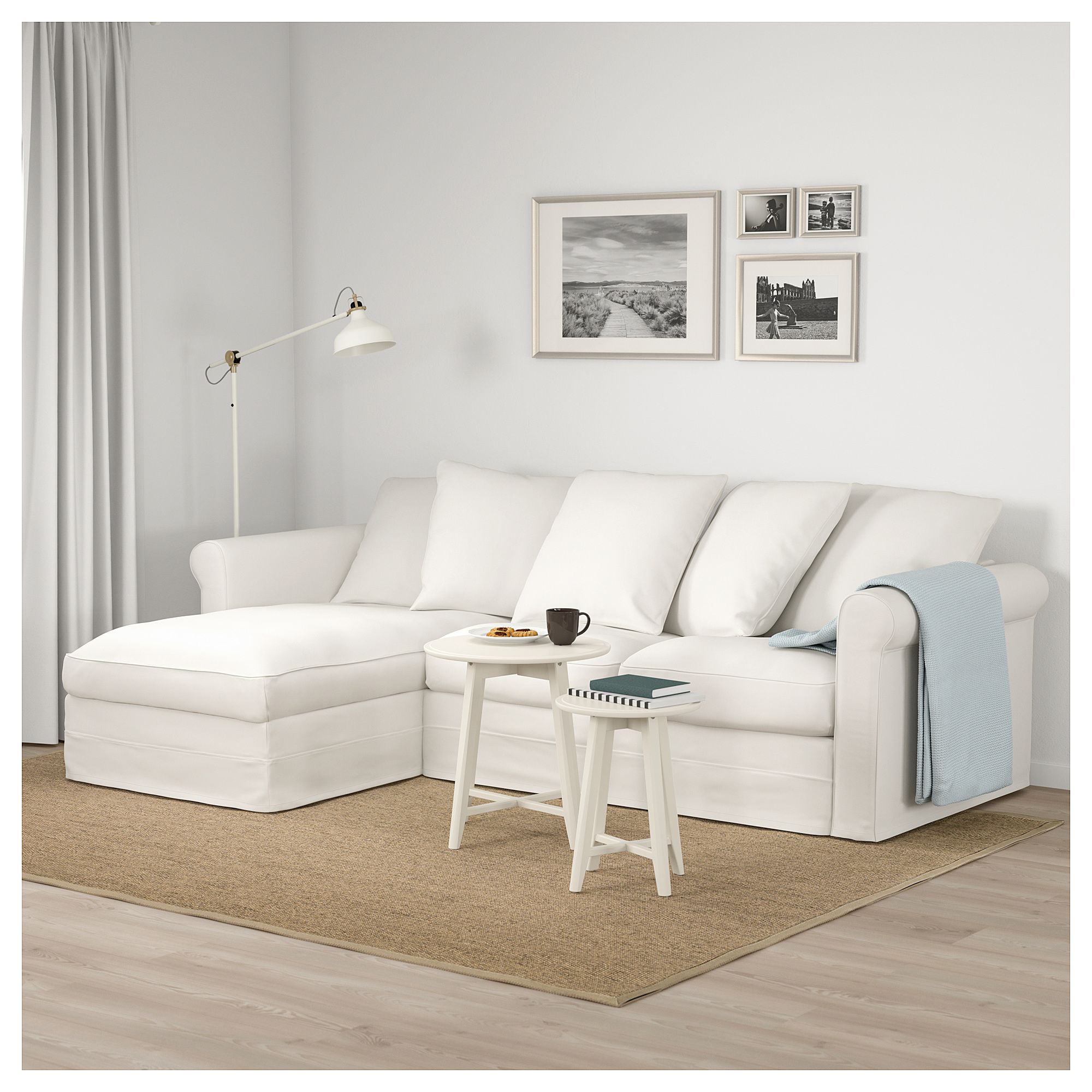 Furniture And Home Furnishings Modern White Living Room