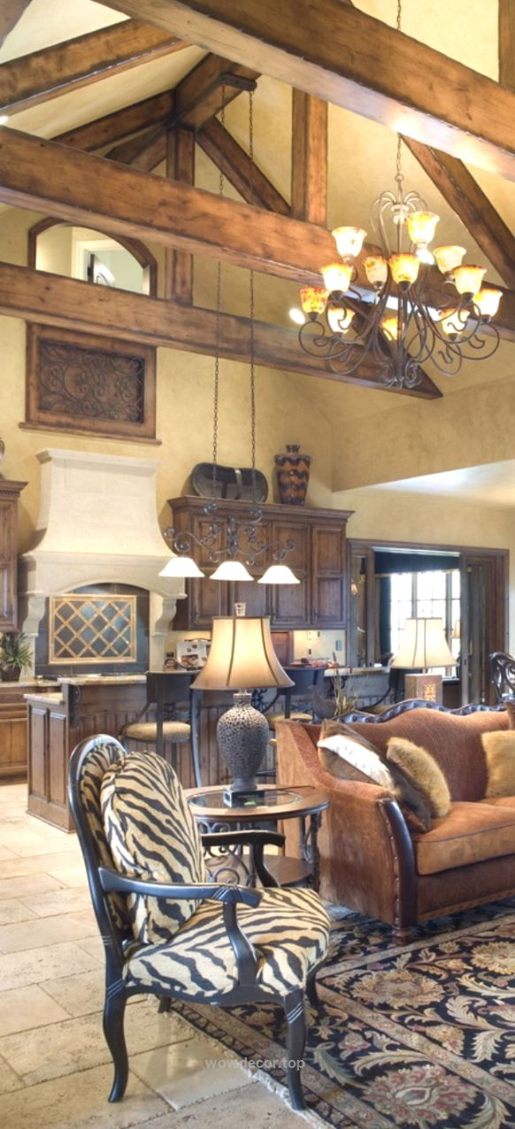 Inspirational Tuscan Style Home Interiors