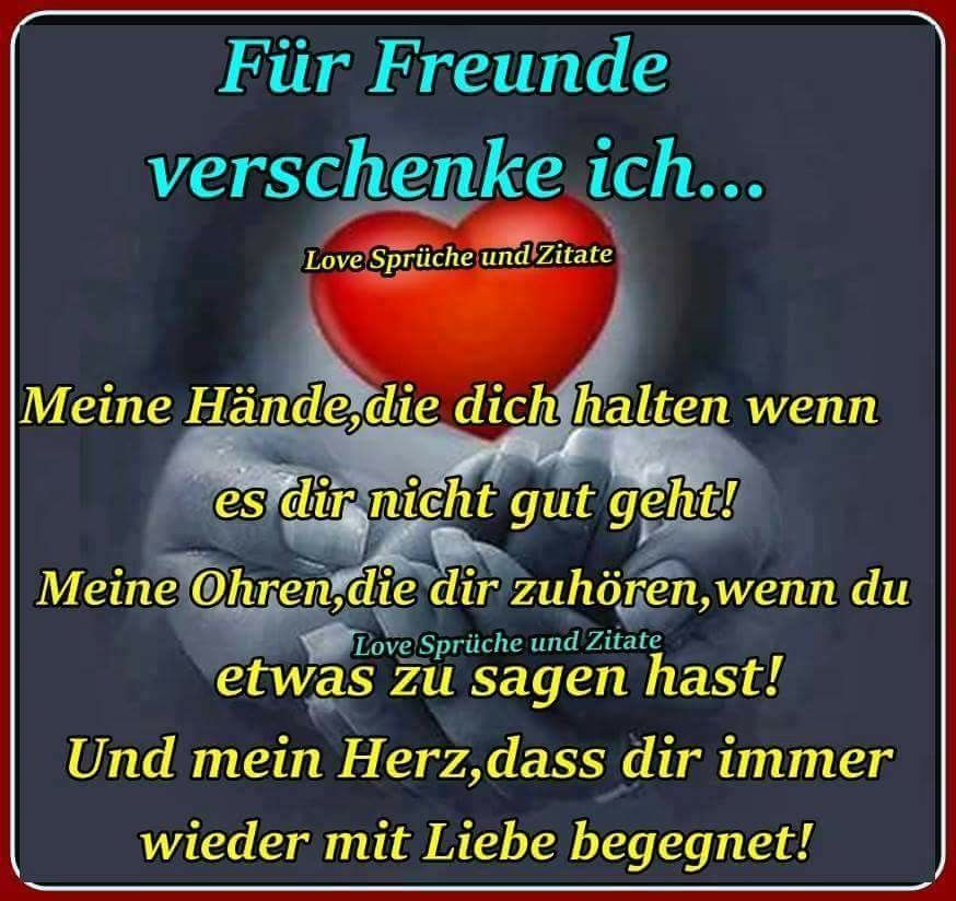 Pin Von Heinrich Thoben Auf Freundschaft Freundschaft