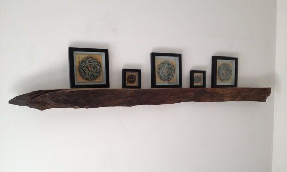 """Driftwood decorative wall hanging, shelf, or mantle piece (68"""" Long) on Etsy, $55.00"""