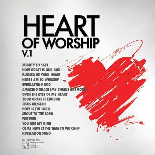 BESTSELLER! Heart Of Worship Vol. 1 $5.88